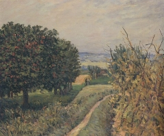 Among the Vines Louveciennes, 1874