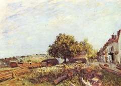 Saint-Mammès am Morgen, 1890