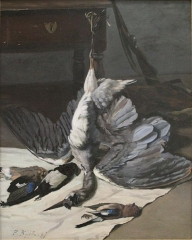 Nature morte au héron, 1867