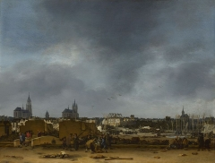 Egbert van der Poel A View of Delft after the Explosion of 1654