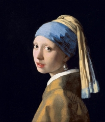 Girl with a Pearl Earring (1665)