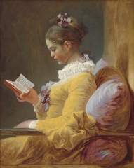 A Young Girl Reading, c. 1776