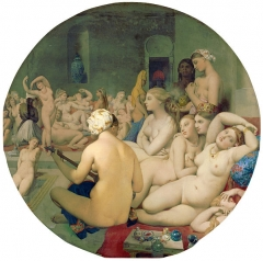 The Turkish Bath, 1862