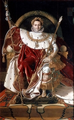 Napoleon I on his Imperial Throne, 1806