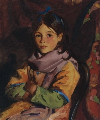 Mary Agnes, one of the children of Dooagh (1924)