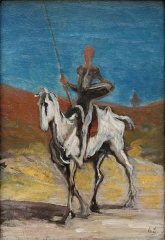 Don Quixote and Sancho Panza (1868)