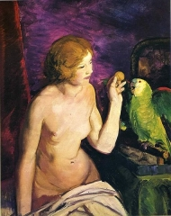 Nude with a Parrot (1915)
