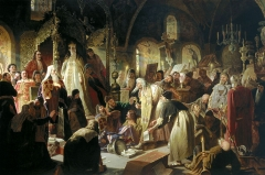 Nikita Pustosviat. Dispute on the Confession of Faith, 1881
