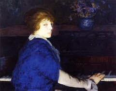 Emma at the Piano, (1914)