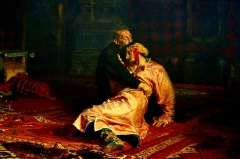 Ivan the Terrible and His Son Ivan (1885)