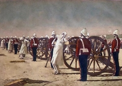 Suppression of the Indian Revolt by the English (1884)