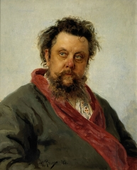 Portrait of Mussorgsky