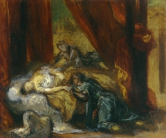 The Death of Desdemona, 1858