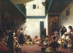 Jewish Wedding in Morocco, c.1839