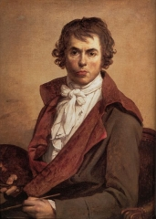 Self portrait of Jacques-Louis David, 1794