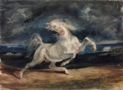 Horse Frightened by a Storm, 1824