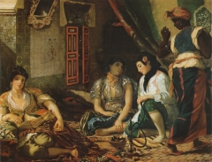 The Women of Algiers, 1834