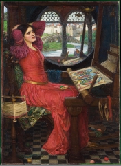 I am half-sick of shadows, said the Lady of Shalott