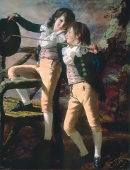 Portrait of James and John Lee Allen, early 1790s