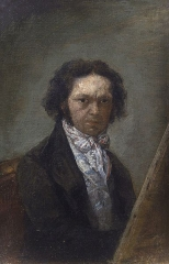 Self-portrait, c. 1796-97. Museo del Prado, Madrid