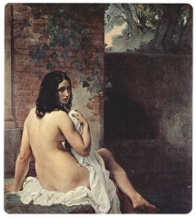 Woman after Bath (1859)