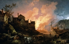 Coalbrookdale by Night, painted 1801