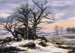 Megalithic Tomb in Winter, 1824-25