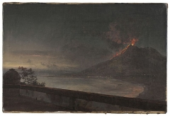 Johan Christian Dahl, View towards Vesuvio from Quisisana, 1820