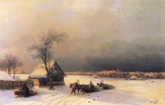 Moscow in Winter from the Sparrow Hills (1872)