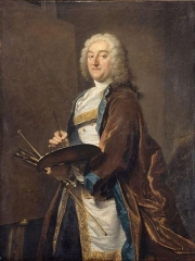 Portrait of Jean-Francois de Troy by Joseph Aved, 1734