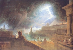 The Seventh Plague of Egypt, John Martin, 1823