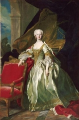 The Infanta María Teresa Rafaela of Spain, future Dauphine of France